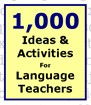 1,000 Ideas And Activties For Language Teachers